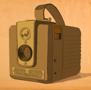 Hawkeye Brownie Camera