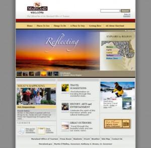 Maryland's Website After