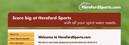 Hereford Sports Website